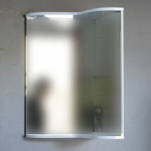 Зеркало 'Омега' угловой 450х732х450