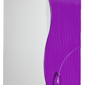 Зеркало-шкаф 'ALLESSANDRO-50' Правый 500х732х150 (белый/фиолет)