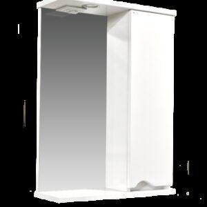 Зеркало-шкаф 'Bello-C 50' правый (белый) 500х728х190