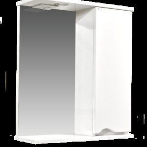 Зеркало-шкаф 'Bello-C 60' правый (белый) 600х700х190