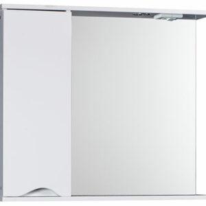 Зеркало-шкаф 'Bello-C 80' левый (белый) 800х700х190