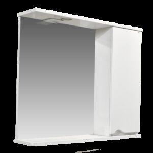 Зеркало-шкаф 'Bello-C 80' правый (белый) 800х700х190