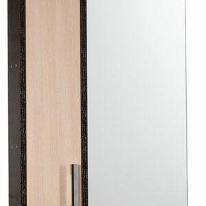 Зеркало-шкаф 'ЭКОНОМ-55' лев (венге/дуб млечн) 550*730*160