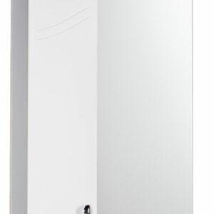 Зеркало-шкаф 'Элегия' левый (белый) 570*717*230