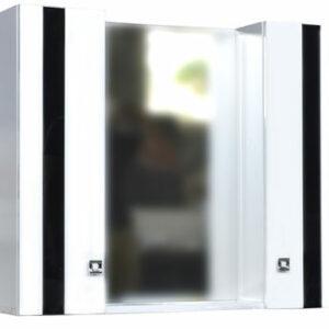 Зеркало-шкаф ГАММА-80 2 двери (670*800*170)