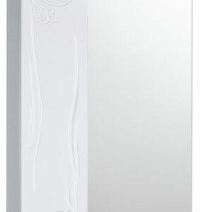 Зеркало-шкаф 'Глория 50' левый (белый) 525*705*180