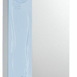 Зеркало-шкаф 'Глория 50' левый (небесный) 525*705*180