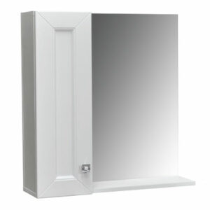 Зеркало-шкаф 'Гранд -70' белый Софт 700х670х170