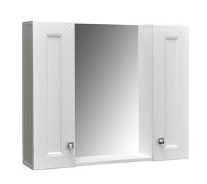 Зеркало-шкаф 'Гранд -80' белый Софт 800х670х170