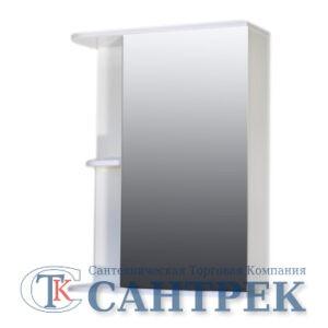 Зеркало-шкаф 'Гретта' (белый) прав. 520*700*180