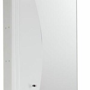 Зеркало-шкаф 'Камея 50' (белый) (с подсветкой) 500х698х165