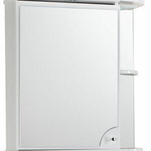 Зеркало-шкаф 'Макарена-65' С левый (белый) 650*700*265