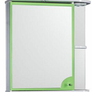 Зеркало-шкаф 'Макарена-65' С левый (салатовый) 650*700*265