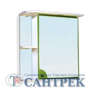 Зеркало-шкаф 'Макарена-65' С правый (салатовый) 650*700*265