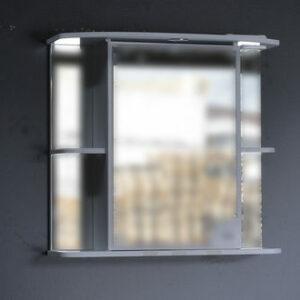 Зеркало-шкаф 'Макарена-75' С левый (белый) 750*700*280