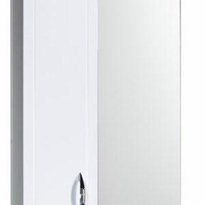 Зеркало-шкаф 'Мальта-50' белое левое ЗМ50БЛ 500х722х190
