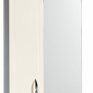 Зеркало-шкаф 'Мальта-50' бежевое левое ЗМ50БЖЛ 500х722х190
