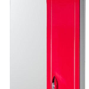 Зеркало-шкаф 'Мальта-50' красное правое ЗМ50КП 500х722х190