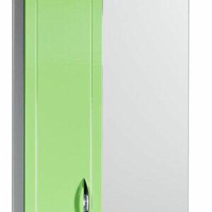 Зеркало-шкаф 'Мальта-50' салатовое левое ЗМ50СЛ 500х722х190