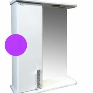 Зеркало-шкаф 'Марта-50' левый (Фиолетовый) 500*725*180