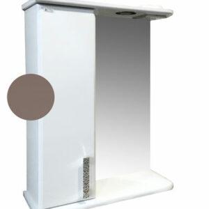 Зеркало-шкаф 'Марта-50' левый (Шоколад) 500*725*180