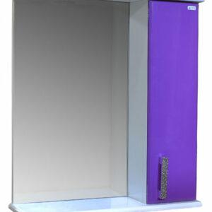 Зеркало-шкаф 'Марта-50' правый (Фиолетовый) 500*725*180