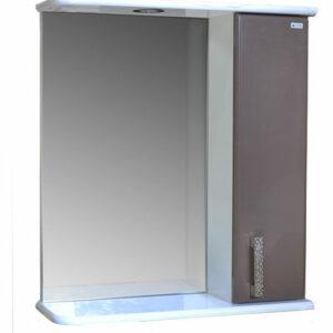 Зеркало-шкаф 'Марта-50' правый (Шоколад) 500*725*180