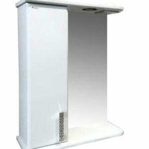 Зеркало-шкаф 'Марта-55' левый (белый) 550*725*180