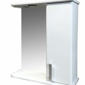 Зеркало-шкаф 'Марта-55' правый (белый) 550*725*180
