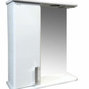 Зеркало-шкаф 'Марта-60' левый (белый) 600*725*180