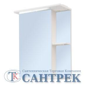 Зеркало-шкаф 'Николь 500 С' левый (с подсветкой) 500*700*234