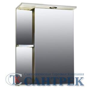 Зеркало-шкаф 'Николь 500 С' правый (с подсветкой) 500*700*234