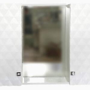 Зеркало-шкаф РИМ-80 2 двери (670*800*170)