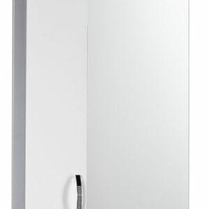 Зеркало-шкаф 'Сити-50' левый (белый)