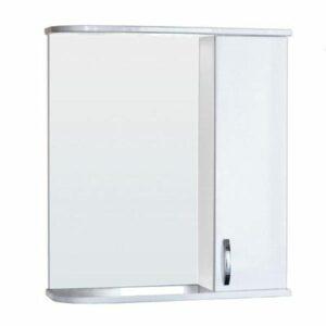 Зеркало-шкаф 'Сити-50' правый (белый) 525х800х180