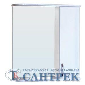 Зеркало-шкаф 'Сити-60' правый (белый) 625х700х180