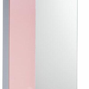 Зеркало-шкаф 'София' левый (розовый) 525*700*180