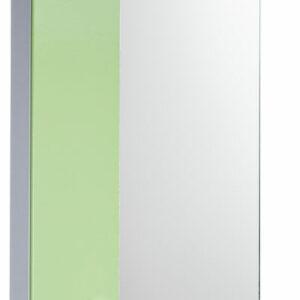Зеркало-шкаф 'София' левый (салатовый) 525*700*180