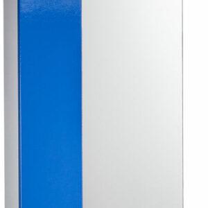 Зеркало-шкаф 'София' левый (синий) 525*700*180