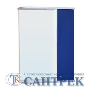 Зеркало-шкаф 'София' правый (синий) 525*700*180