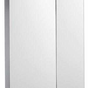 Зеркало-шкаф 'Соло-55' (белый) 525х720х150