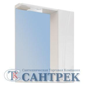 Зеркало-шкаф 'Сонет-С 65' правый (белый) 605*700*185