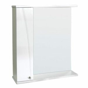 Зеркало-шкаф 'Сонет-С 85' левый (белый) 850*700*185