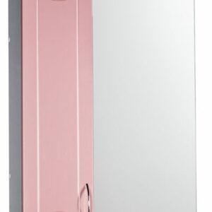 Зеркало-шкаф 'Стиль 55' левый (розовый) 570х732х230