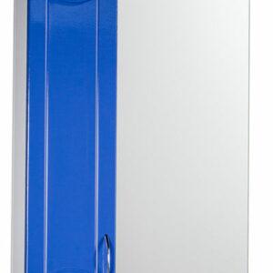 Зеркало-шкаф 'Стиль 55' левый (синий) 570х732х230