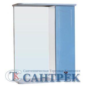 Зеркало-шкаф 'Стиль 55' правый (небесный) 570х732х230