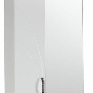 Зеркало-шкаф 'Венеция' левый (белый) 570*717*230