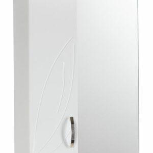 Зеркало-шкаф 'Весна' левый (белый) 570*717*230