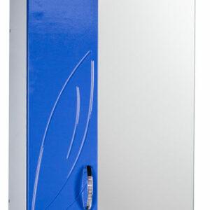 Зеркало-шкаф 'Весна' левый (синий) 570*717*230