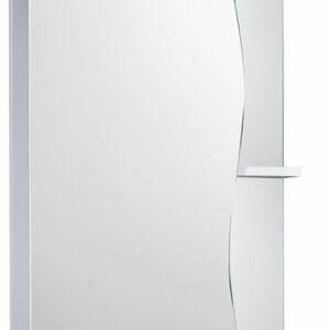 Зеркало-шкаф 'Волна 500 С' (с подсветкой) левый 500*700*234